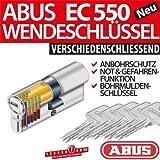 ABUS EC550 Profil-Doppelzylinder Länge 35/35mm mit 5 Schlüssel