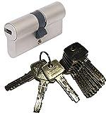 ABUS EC550 Profil-Doppelzylinder Länge (a/b) 35/35mm (c=70mm) mit 10 Schlüssel