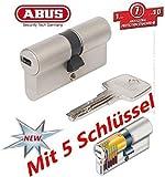 ABUS EC550 Profil-Knaufzylinder Länge Z30/K35mm mit 5 Schlüssel