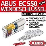 ABUS Profilzylinder Zylinder Türzylinder EC550 EC 550 gleichschliessend Lagerschliessung, Länge:30/35