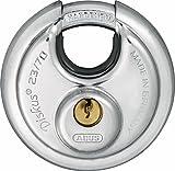 ABUS 44754 23/70 Diskus-Hangschloss, grau, 70mm